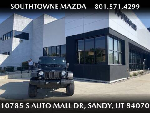 2017 Jeep Wrangler Unlimited for sale at Southtowne Mazda of Sandy in Sandy UT