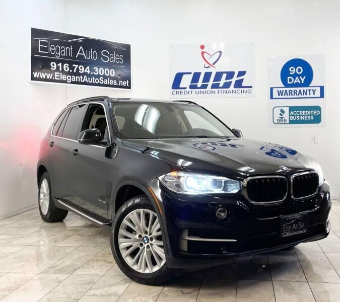 2014 BMW X5 for sale at Elegant Auto Sales in Rancho Cordova CA