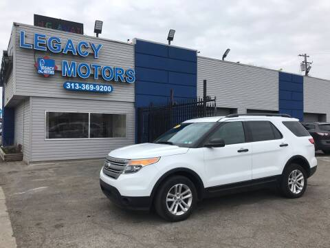2015 Ford Explorer for sale at Legacy Motors in Detroit MI