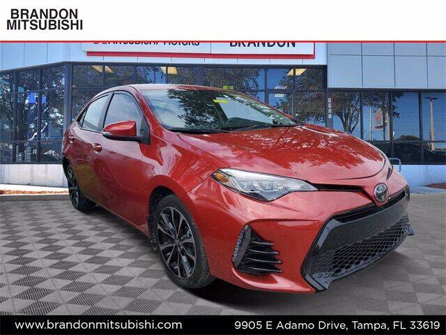 2019 Toyota Corolla for sale at Brandon Mitsubishi in Tampa FL