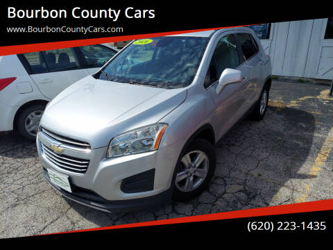 2016 Chevrolet Trax for sale at Bourbon County Cars in Fort Scott KS