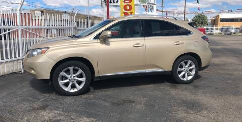 2010 Lexus RX 350 for sale at Robert B Gibson Auto Sales INC in Albuquerque NM