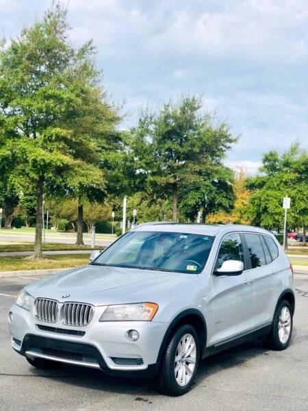 2013 BMW X3 for sale at Supreme Auto Sales in Chesapeake VA