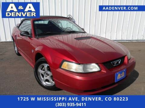 1999 Ford Mustang for sale at A & A AUTO LLC in Denver CO