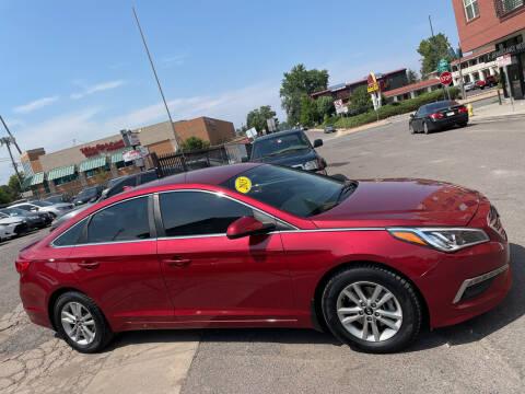 2015 Hyundai Sonata for sale at Sanaa Auto Sales LLC in Denver CO