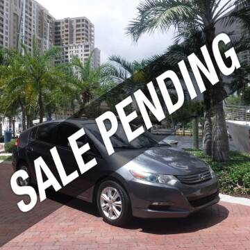 2010 Honda Insight for sale at Choice Auto in Fort Lauderdale FL