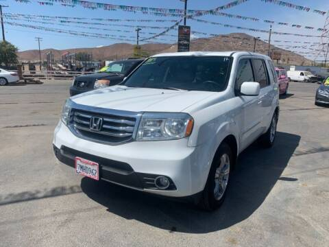 2013 Honda Pilot for sale at Los Compadres Auto Sales in Riverside CA