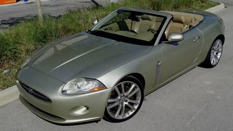 2007 Jaguar XK-Series for sale at Premier Luxury Cars in Oakland Park FL