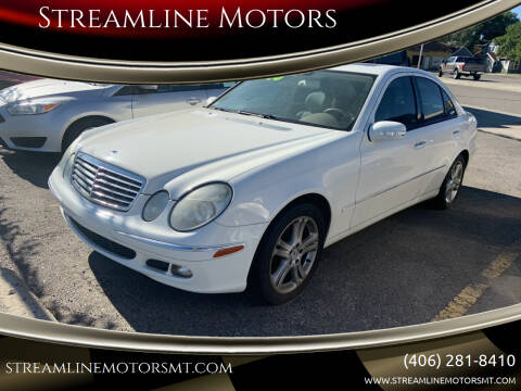 2006 Mercedes-Benz E-Class for sale at Streamline Motors in Billings MT