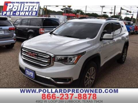 2019 GMC Acadia for sale at South Plains Autoplex by RANDY BUCHANAN in Lubbock TX