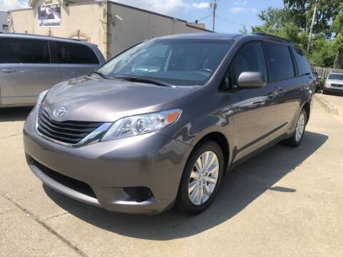 2017 Toyota Sienna for sale at T & G / Auto4wholesale in Parma OH