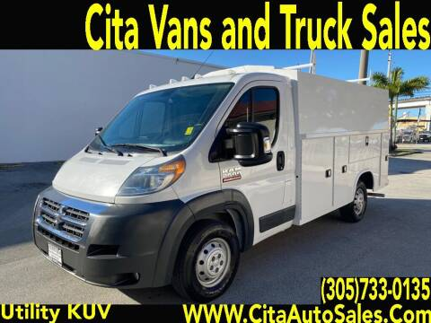 2016 RAM PROMASTER 2500 KUV UTILITY TRUCK for sale at Cita Auto Sales in Medley FL