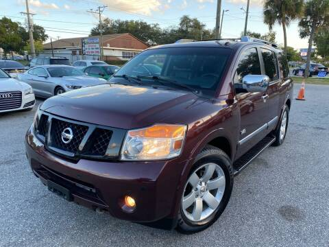 2014 Nissan Armada for sale at CHECK  AUTO INC. in Tampa FL