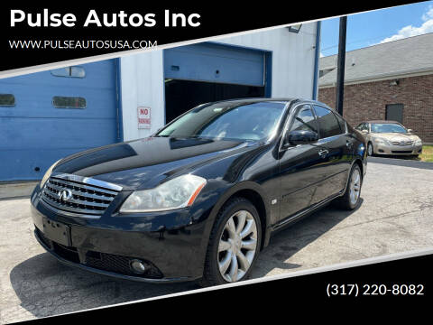 2006 Infiniti M35 for sale at Pulse Autos Inc in Indianapolis IN