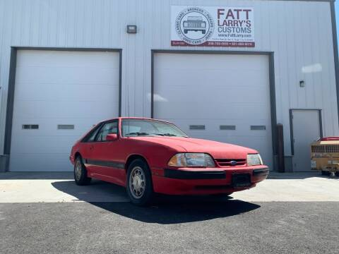 1986 Ford Mustang for sale at Fatt Larry's Customs in Sugar City ID
