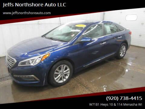 2015 Hyundai Sonata for sale at Jeffs Northshore Auto LLC in Menasha WI