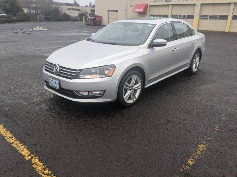 2014 Volkswagen Passat for sale at Teddy Bear Auto Sales Inc in Portland OR