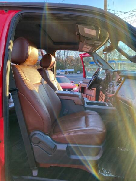 2014 Ford F-250 Super Duty 4x4 Lariat 4dr Crew Cab 8 ft. LB Pickup - Nashville TN