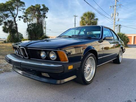 1985 BMW 6 Series for sale at American Classics Autotrader LLC in Pompano Beach FL
