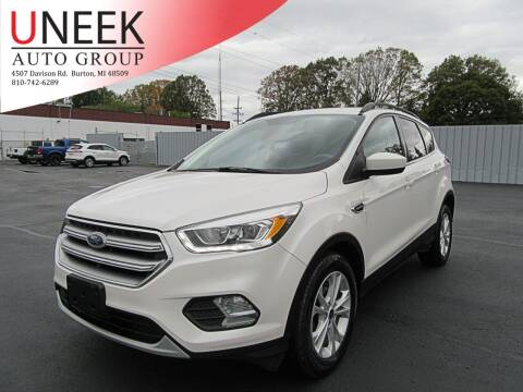 2017 Ford Escape for sale at Uneek Auto Group LLC in Burton MI