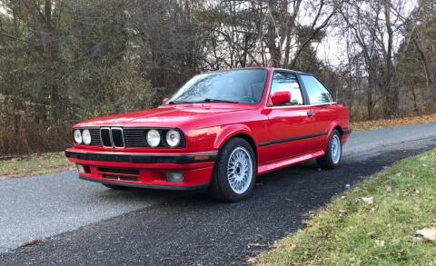 1989 BMW 3 Series for sale at EuroMotors LLC in Lee MA