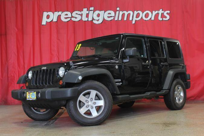 2013 Jeep Wrangler Unlimited for sale at Prestige Imports in Saint Charles IL