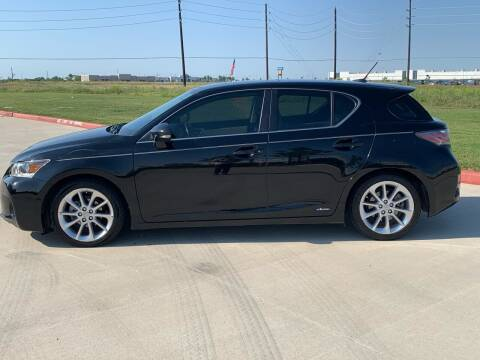 2011 Lexus CT 200h for sale at ABS Motorsports in Houston TX