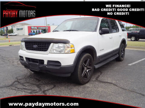 2002 Ford Explorer for sale at Payday Motors in Wichita KS