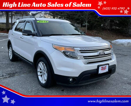 2014 Ford Explorer for sale at High Line Auto Sales of Salem in Salem NH