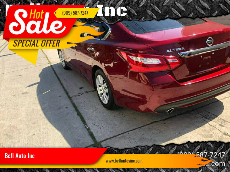 2017 Nissan Altima for sale at Bell Auto Inc in Long Beach CA