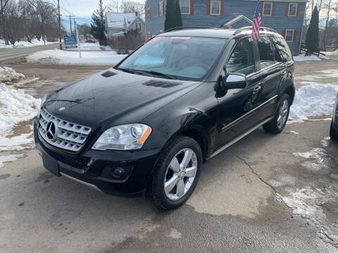 2009 Mercedes-Benz M-Class for sale at Winner's Circle Auto Sales in Tilton NH