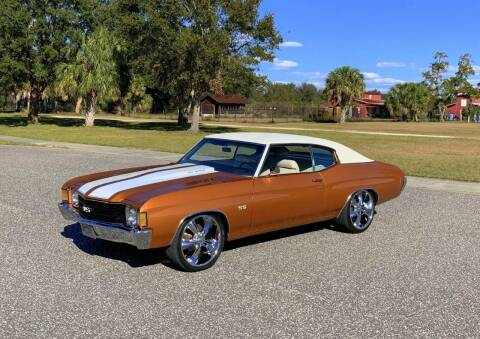1972 Chevrolet Chevelle for sale at P J'S AUTO WORLD-CLASSICS in Clearwater FL