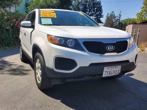 2011 Kia Sorento for sale at ALL CREDIT AUTO SALES in San Jose CA