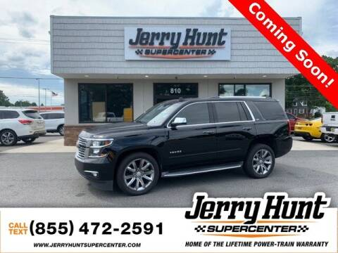 2016 Chevrolet Tahoe for sale at Jerry Hunt Supercenter in Lexington NC