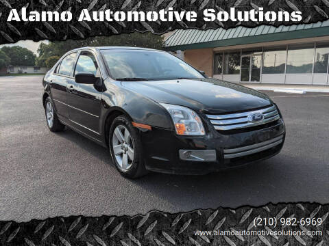 2007 Ford Fusion for sale at Alamo Automotive Solutions in San Antonio TX