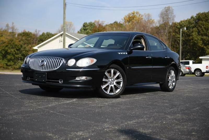 2008 Buick LaCrosse for sale at Herman's Motor Sales Inc in Hurt VA