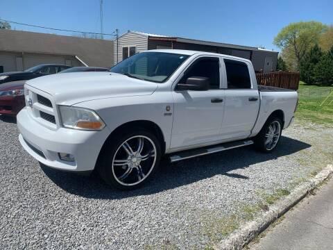 2012 RAM Ram Pickup 1500 for sale at MOUNTAIN CITY MOTORS INC in Dalton GA