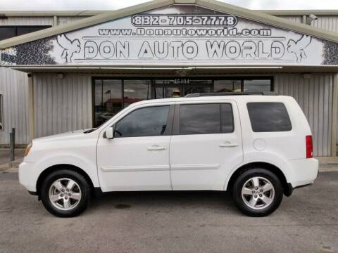 2010 Honda Pilot for sale at Don Auto World in Houston TX