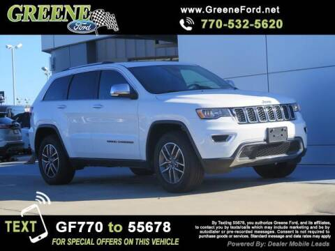 2020 Jeep Grand Cherokee for sale at NMI in Atlanta GA
