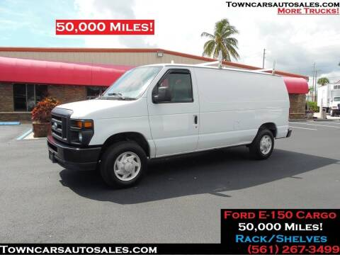 2008 Ford E-150 for sale at Town Cars Auto Sales in West Palm Beach FL