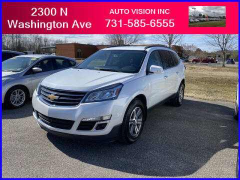 2016 Chevrolet Traverse for sale at Auto Vision Inc. in Brownsville TN