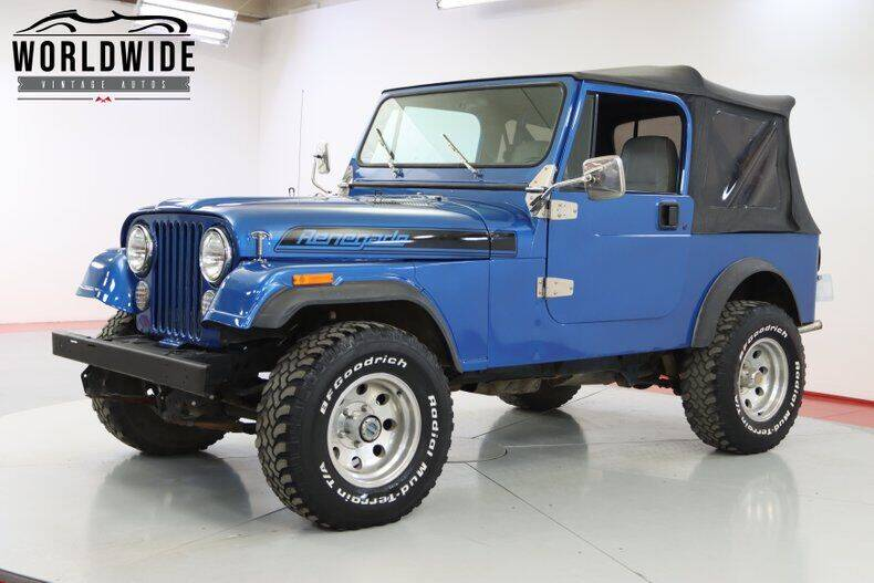 1984 Jeep CJ-7 for sale in Denver, CO