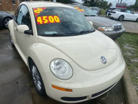 2006 Volkswagen New Beetle for sale at MITCHELL AUTO ACQUISITION INC. in Edgewater FL