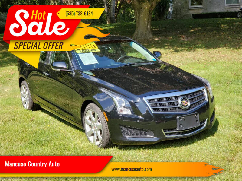 2014 Cadillac ATS for sale at Mancuso Country Auto in Batavia NY