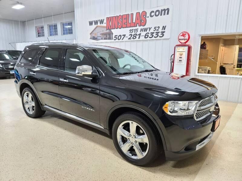 2011 Dodge Durango for sale at Kinsellas Auto Sales in Rochester MN