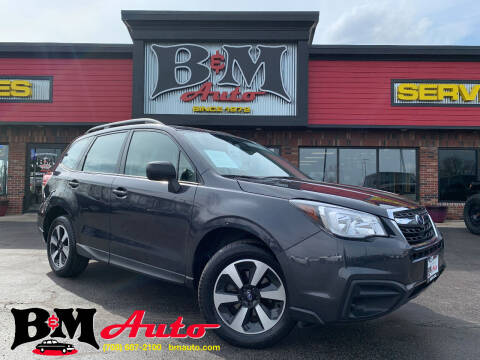 2018 Subaru Forester for sale at B & M Auto Sales Inc. in Oak Forest IL