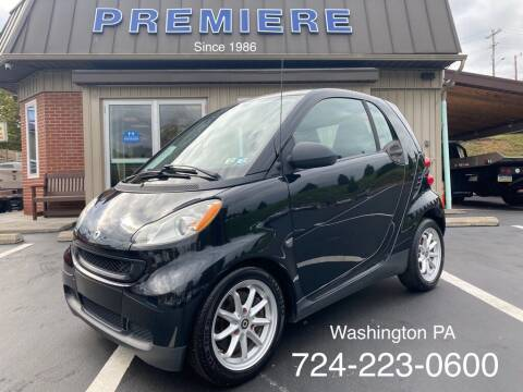 2009 Smart fortwo for sale at Premiere Auto Sales in Washington PA