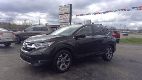 2019 Honda CR-V for sale at Premier Auto Sales Inc. in Big Rapids MI