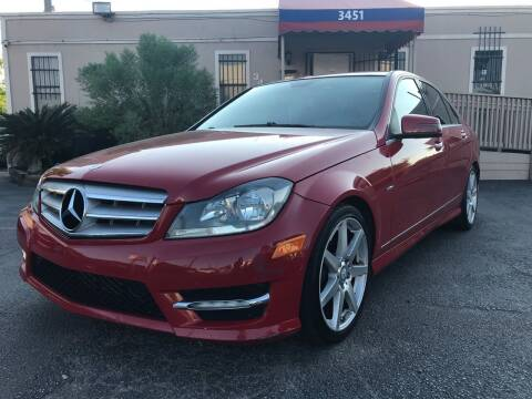 2012 Mercedes-Benz C-Class for sale at Saipan Auto Sales in Houston TX