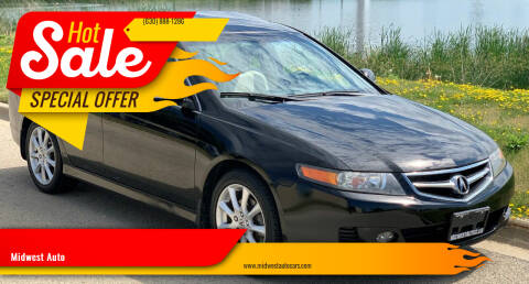 2006 Acura TSX for sale at Midwest Auto in Naperville IL